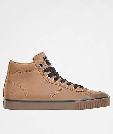 Emerica x Pendleton Indicator Hi Brown & Gum Shoes
