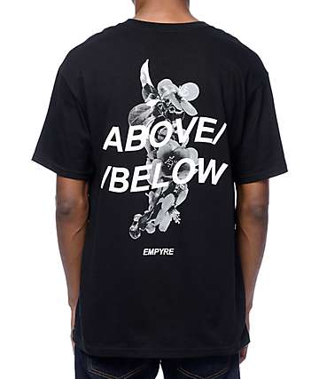 Empyre Above Below Black T-Shirt