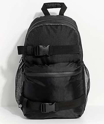 Empyre Dan Black Skate Backpack