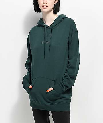 Empyre Dottie VIT Vibes Dark Green Hoodie
