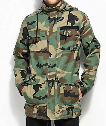 Empyre Gulfstream Military Camo Jacket