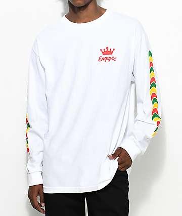 Empyre Jam Rock White Long Sleeve T-Shirt