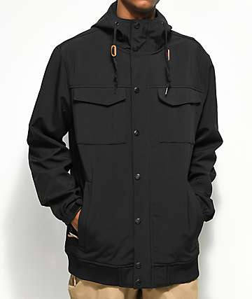 Empyre Luger M65 Black 10K Softshell Jacket