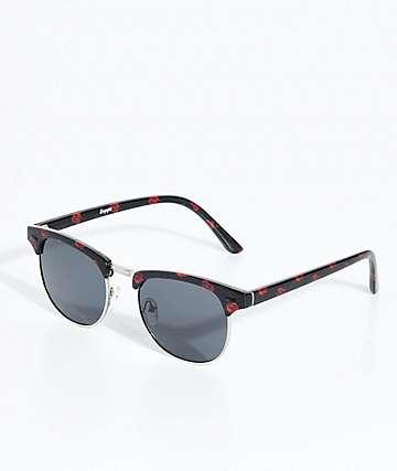 Empyre Retro Roses Black Sunglasses