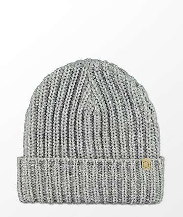 Empyre Sand & White Speckle Foldover Beanie
