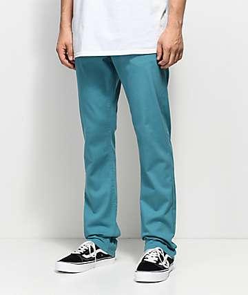 Empyre Skeletor Larkspur Blue Chino Pants