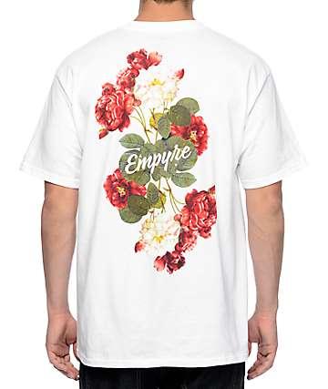 Empyre Summer Floral White T-Shirt