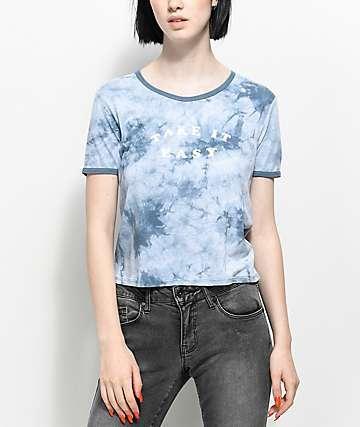 Empyre Take It Easy Blue Tie Dye T-Shirt