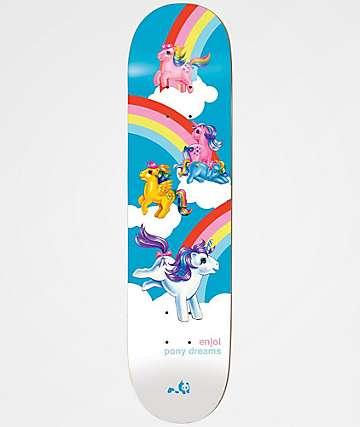 "Enjoi x My Little Pony Dream 8.13"" Skateboard Deck"