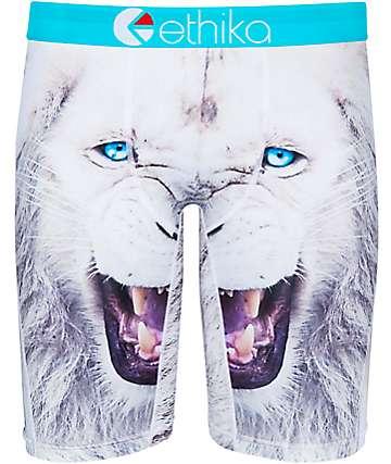 Ethika White Lion Boxer Briefs