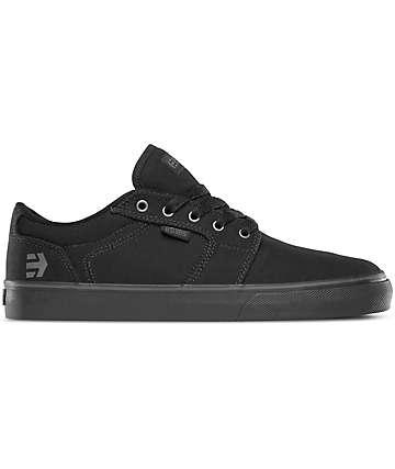 Etnies Barge LS Black & Black Shoes