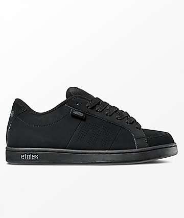 Etnies Kingpin Black & Black Skate Shoes