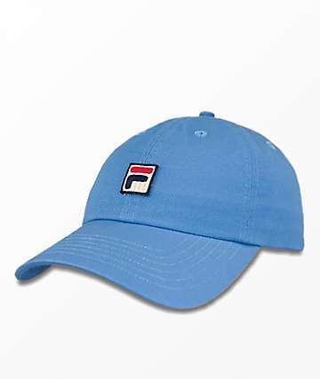 FILA Heritage Light Blue Strapback Hat