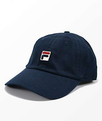 FILA Heritage Navy Strapback Hat