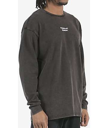 Fairplay Anderson Black Wash Long Sleeve T-Shirt