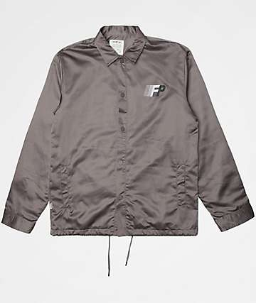Fairplay Brawley Grey Coaches Jacket