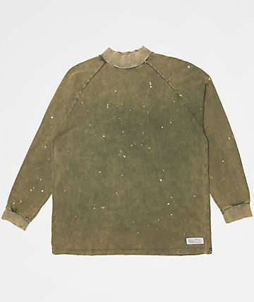 Fairplay Marlow Olive Long Sleeve Knit Shirt