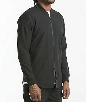 Fairplay Rogan Twill Black Jacket
