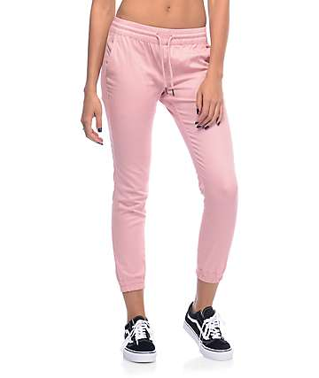 Fairplay Runner Pink Jogger Pants