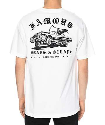 Famous Ride Or Die White T-Shirt
