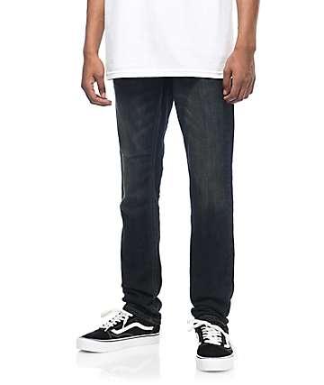 Free World Messenger Vintage Rinse Skinny Stretch Jeans