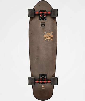 "Globe Big Blazer Lumberjack Plaid 32"" Cruiser Complete Skateboard"