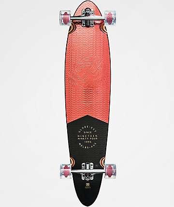 "Globe Pinner Classic Red Foil 40"" Longboard Complete"