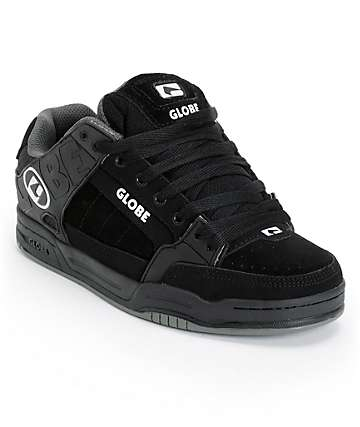 Globe Tilt All Black TPR Skate Shoes