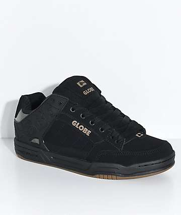 Globe Tilt Black, Black & Camo Skate Shoes