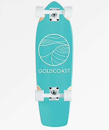 "Gold Coast Classic Turquoise 28.5"" Cruiser Complete"