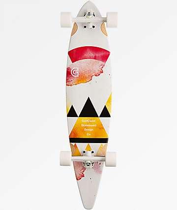 "Gold Coast Salvia 40"" Pintail Longboard Complete"