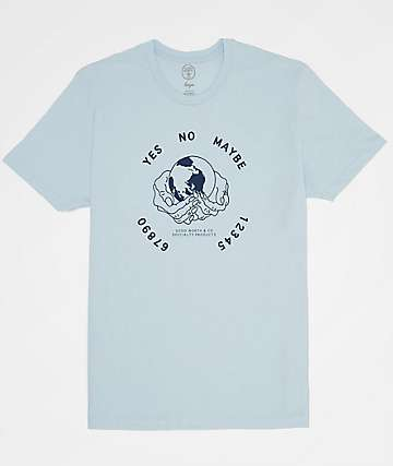 Good Worth Ouija Light Blue T-Shirt