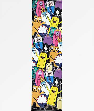 Grizzly x Adventure Time Like Your Brain & Stuff Grip Tape