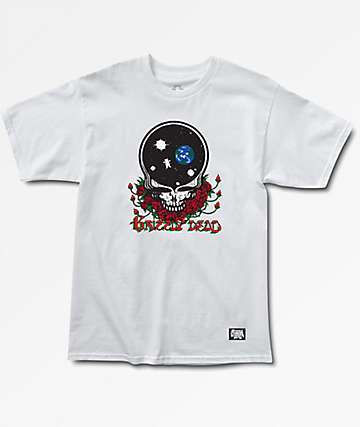 Grizzly x Grateful Dead Your Face White T-Shirt