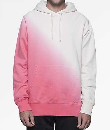 HUF Arnold White & Pink Hoodie