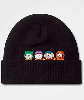 HUF x South Park Kids Black Beanie