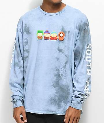 HUF x South Park Kids Crystal Wash Long Sleeve T-Shirt