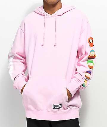 HUF x South Park Kids Pink Hoodie