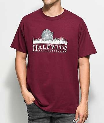 Halfwits Northern Burgundy T-Shirt