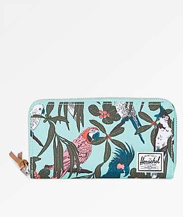 Herschel Supply Co Thomas Lucite Green Parlour Wallet