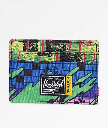 Herschel Supply Co. Charlie Check Surf Cardholder Wallet