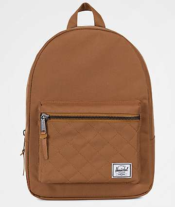 Herschel Supply Co. Grove Quilted Caramel Extra Small 13.5L Backpack