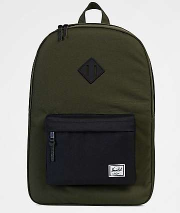 Herschel Supply Co. Heritage Forest Night & Black 21.5L Backpack