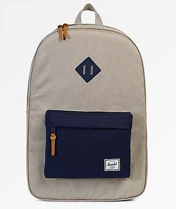 Herschel Supply Co. Heritage Light Khaki Crosshatch 21.5L Backpack