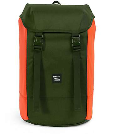 Herschel Supply Co. Iona Forest Night & Orange 24L Backpack