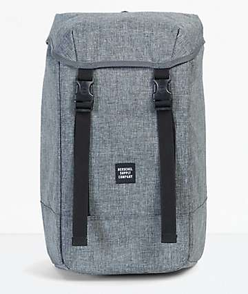 Herschel Supply Co. Iona Raven Crosshatch Backpack