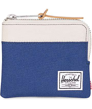 Herschel Supply Co. Johnny Twilight Blue & Pelican Wallet