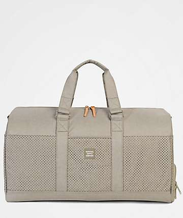 Herschel Supply Co. Novel Dark Khaki Crosshatch 42.5L Duffel Bag