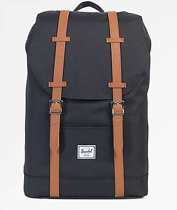 Herschel Supply Co. Retreat Mid Black 19.5L Backpack