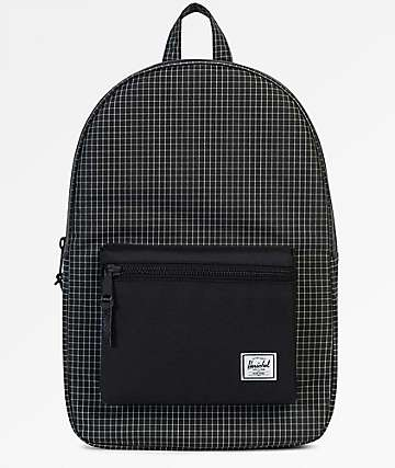 Herschel Supply Co. Settlement Black Grid 23L Backpack